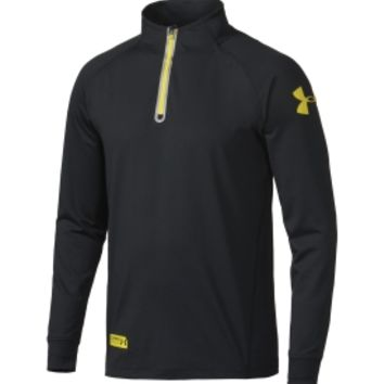 Under Armour Men's Combine Training Infrared Quarter Zip Long Sleeve Shirt - Dick's Sporting Goods