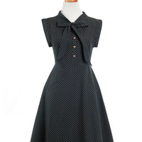 Breakfast Nook Black Dress