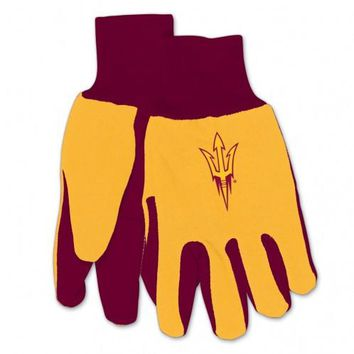 Arizona State Sun Devils - Adult Two-Tone Sport Utility Gloves