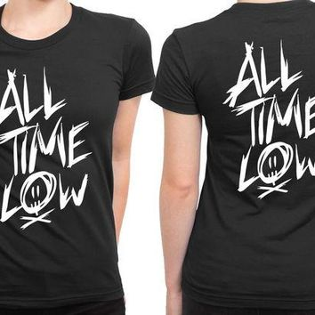 DCCKG72 All Time Low Title 2 Sided Womens T Shirt