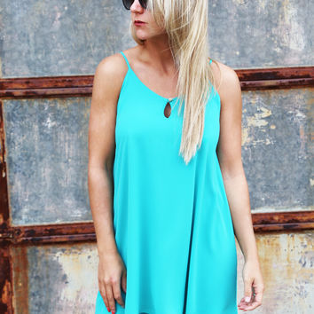 Better In Aqua Dress
