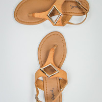 Diamond In The Rough Sandals in Camel
