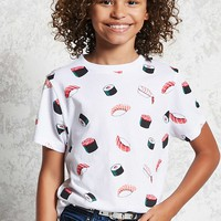 Girls Sushi Print Tee (Kids)