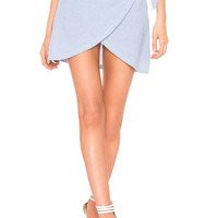 Motel Eleanor Skirt in Pin Stripe
