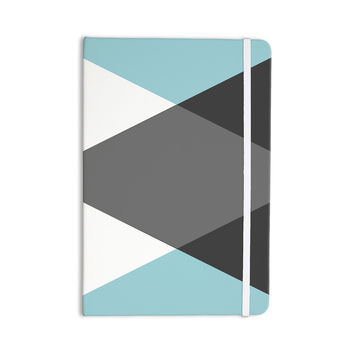 "Suzanne Carter ""Diamonds"" Gray Blue Everything Notebook"