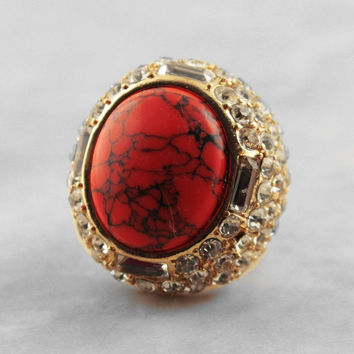 Cabochon Stretch Ring