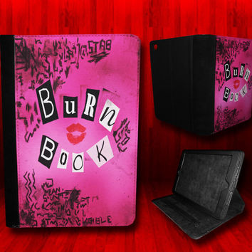 Mean Girls Burn Book Leather Case For iPad Mini