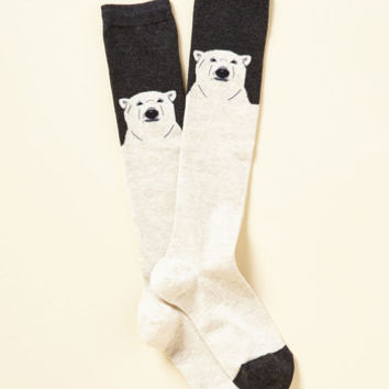 Polar and Wiser Socks | Mod Retro Vintage Socks | ModCloth.com