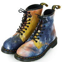 DM Tye Dye Lace Up Boots - New In This Week - New In - Topshop