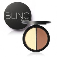 Blush Bronzer Highlighter Concealer Bronzer Contour Effects Palette Comestic Make Up With Mirror