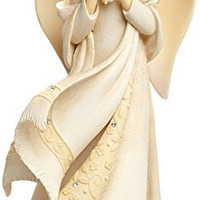 Forget-Me-Not Angel Figurine By Enesco Foundations By Karen Hahn