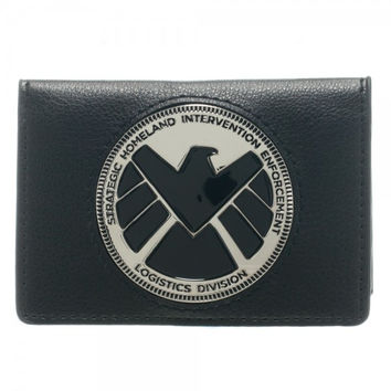 Agents Of SHIELD Badge Folder Wallet