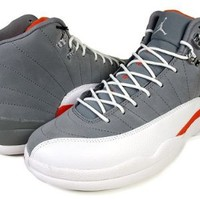 Amazon.com: Jordan Mens 130690-012 AIR JORDAN 12 RETRO: Shoes