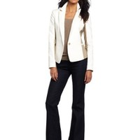 Anne Klein Women's Petite One Button Jacket