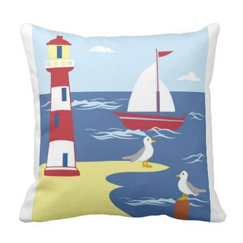 Sailing Dreams Pillow