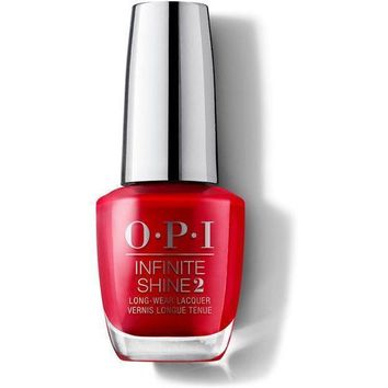 OPI Infinite Shine - Unequivocally Crimson - #ISL09