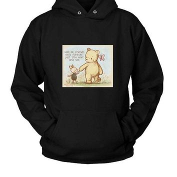 ESBP7V Best Friends Foreve Hoodie Two Sided