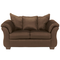 Darcy Loveseat in Cafe Fabric
