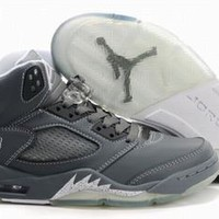 wolf grey men jordan 5 shoes