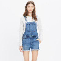 Adirondack Short Overalls in Delmar Wash