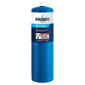 BernzOmatic 14.1oz Propane Cylinder Disposable Standard Propane Tank Canister