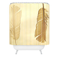 Shannon Clark Side By Side Shower Curtain