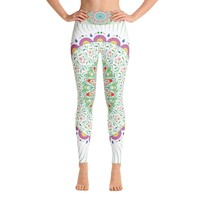 Hippy Mandala Yoga Leggings