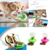 Lifeunion Pet Dog Cat Automatic Tumbler Interactive IQ Feeding Bowl Food Leakage Device Pet Feeder