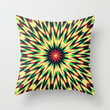 Layered Pattern Throw Pillow by Abstracts by Josrick