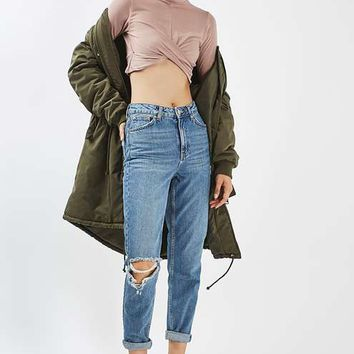 PETITE Twist Front Crop Top - New In
