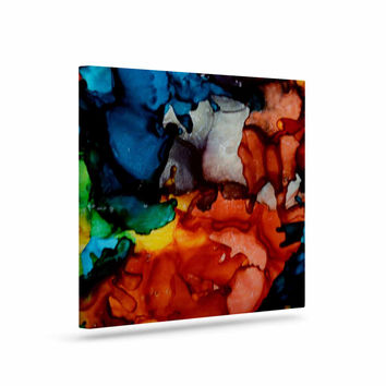 "Claire Day ""Fun Loving"" Multicolor Canvas Art"