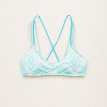 AERIE STRAPPY SCOOP BIKINI TOP