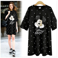 Women's Trending Popular Fashion 2016 Summer Beach Holiday Floral Printed Loose Casual Party Playsuit Clubwear Bodycon Boho Dress _ 5154