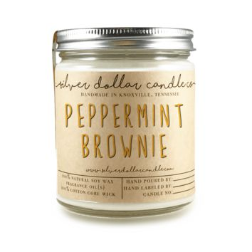 Peppermint Brownie - 8oz Soy Candle