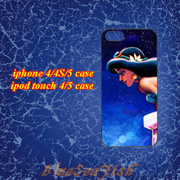 iphone 4 case,iphone 4s case,iphone 5 case,ipod touch 4 case,ipod touch 5 case--Jasmine Princess,in plastic and silicone