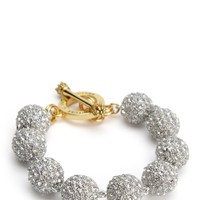 Pave Ball Bracelet by Juicy Couture