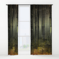 Why am I here Window Curtains by happymelvin