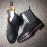 Cl Christian Louboutin Boots Style #2097 Sneakers Fashion Shoes
