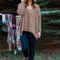 Faded Amber Sweater