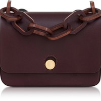 Sophie Hulme Oxblood Small Spring Crossbody