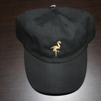 *Gold Foreign Finesse Black Baseball Cap*