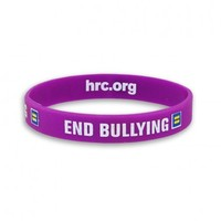 End Bullying | HRC's End Bullying Wristband | LGBT Equality