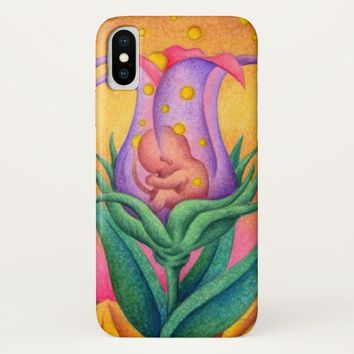 Life in the flower iPhone x case