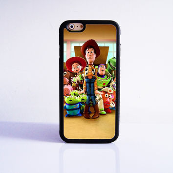 Toy Story Rubber Case Cover for Apple iPhone 4 4s 5 SE 5s 5c 6 6s Plus