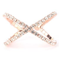 Pave Princess Ring