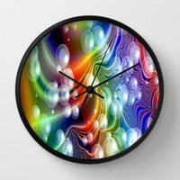 sparkeling bubbles Wall Clock by Store2u
