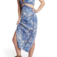 Free People 'Rapture' Embellished Two-Piece Cotton Dress | Nordstrom