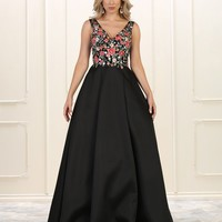 Prom Formal Ball Gown Evening Dress