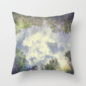 Happily Lost III Throw Pillow by HappyMelvin