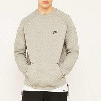 Nike Tech Fleece Grey Crewneck Sweatshirt - Urban Outfitters